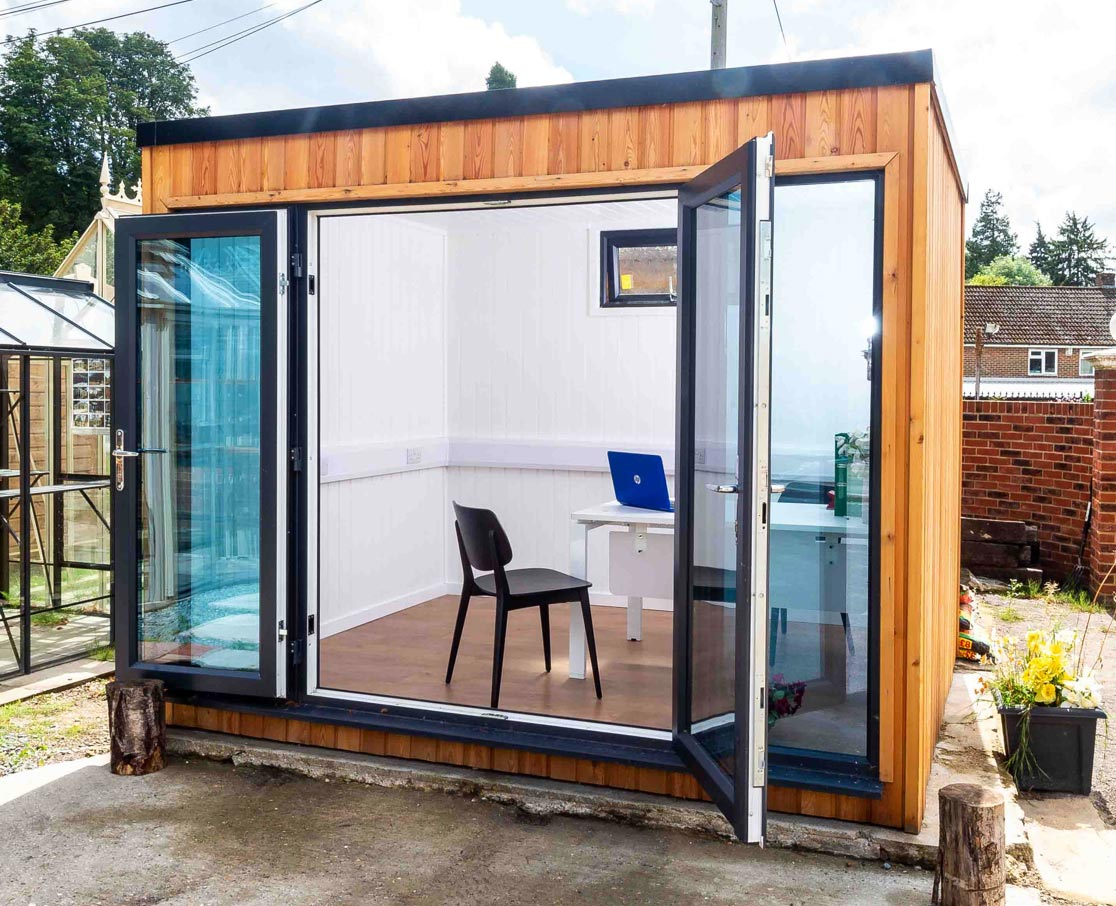 Building a garden office