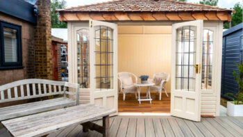 Victorian summer house