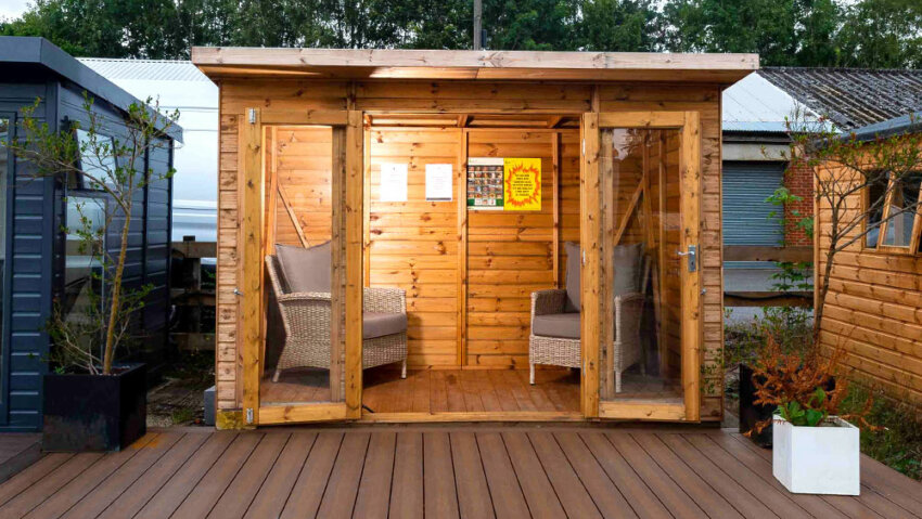 How to supply electricity to a garden shed