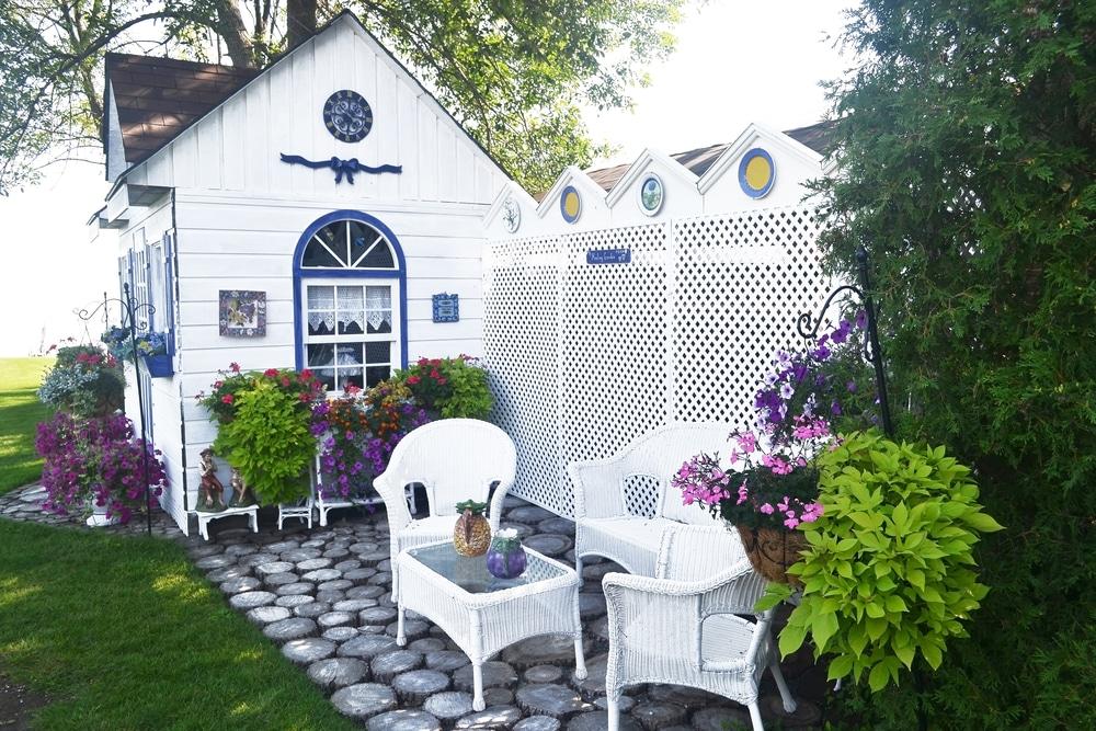 Garden summerhouse London